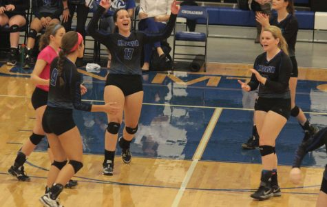 Volleyball advance stops at substate