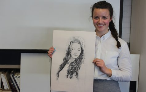 Three place at art competition