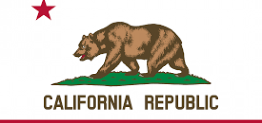 California state flag, credit to wikipedia
