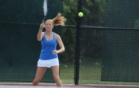 Emma Conover playing tennis