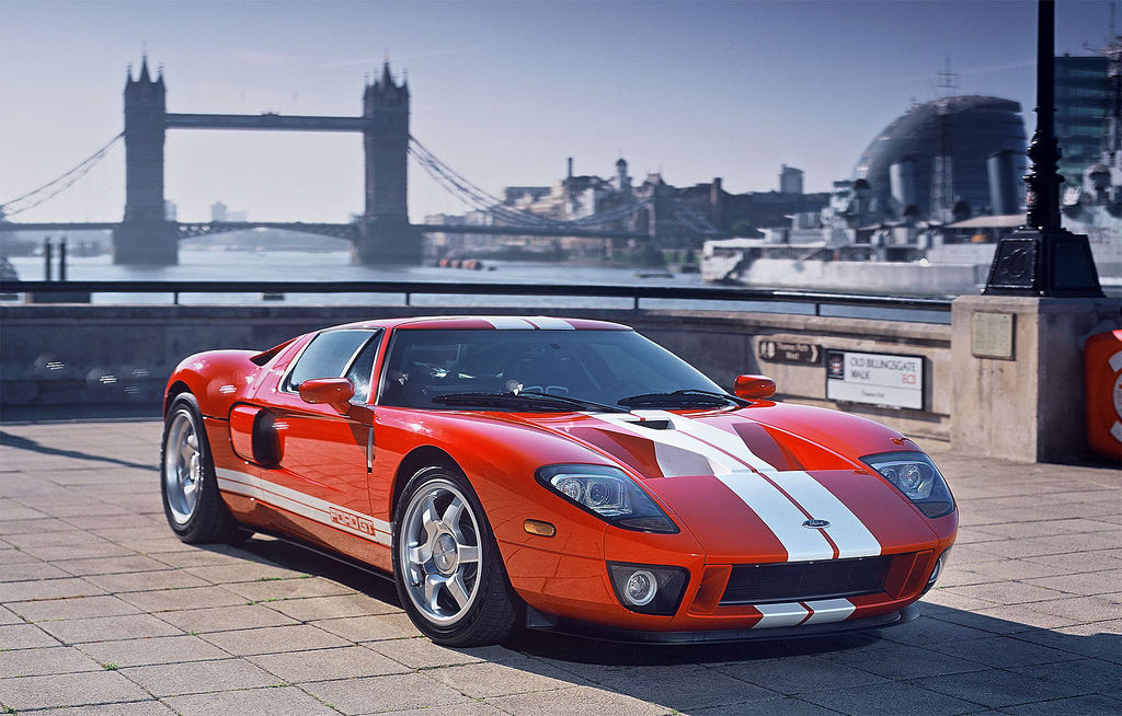 Ford Gt In Front Of The London Bridge Image Courtesy Of Flickr