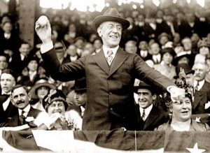 Wilson celebrates with the American people after WWI finally came to an end. Photo courtesy of Wikimedia