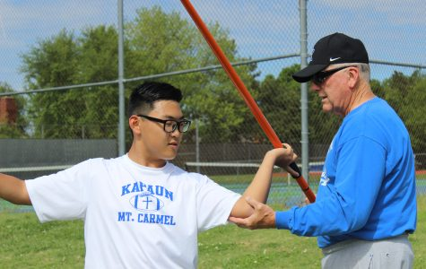 Coach helps foreign exchange student adjust