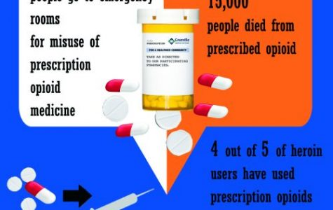 Opioid deaths steadily increase: Over 60 percent of overdose deaths have involved opioid usage