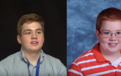 Seniors react to own freshman photos
