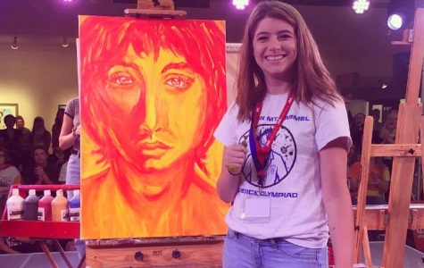 Pennington represents KMC in competitive live art battle