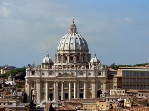 Sitting atop Vatican City, St. Peter's Basilica has been a symbol of the Catholic Church, whose top-ranking officials have been the subject of serious allegations of sexual assault and cover-ups. photo courtesy of Wikimedia Commons