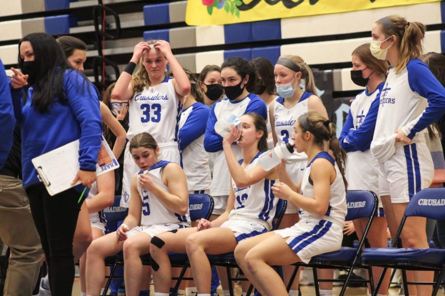 January 26 ,2021  KMC girls basketball team strive to beat the infamous heights high school